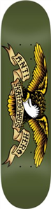 "Anti Hero Eagle Deck Size 8.38"""